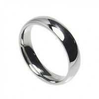 3mm Stainless Steel Comfort Fit Plain Wedding Band Ring Size 3-10 (7)