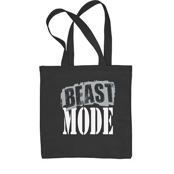 Beast Mode Training Shopping Tote Bag