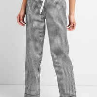 Print Sleep Pants in Poplin | Gap