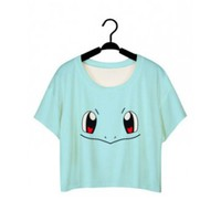 Squirtle Crop T-Shirt
