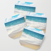beach vibes Coaster by sylviacookphotography