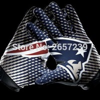 New England Patriots  Gloves Flag 3x5FT NFL banner150X90CM 100D  Polyester brass grommets custom flag, Free Shipping