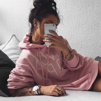 Fashionable Fall Casual Long Hoodie Sweater a12816