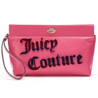 Juicy Couture ''Juicy Couture'' Flocked Clutch (Pink)