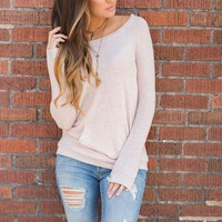 Arie Basic Top (Blush)
