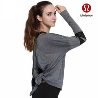 Lululemon Women Fashion Tunic Shirt Top Blouse