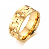Gold or Silver Spinner Ring