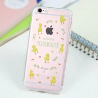 Cute Duck Cover Case for iPhone 5s 5se 6 6s Plus Gift 318