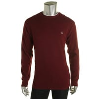 Polo Ralph Lauren Mens Crew Neck Long Sleeves Thermal Shirt