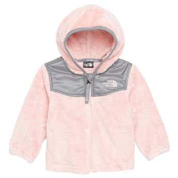 The North Face Oso Hooded Fleece Jacket (Baby Girls) | Nordstrom