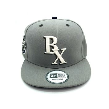 New Era x Secret Society 15th Anniversary BX Sports Snapback Hat Gray White