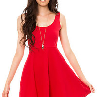 MKL Collective Dress Excellence in Red