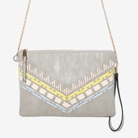 """Althea"" Vegan Leather Crossbody Clutch Hippie Purse"