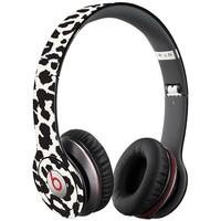 Black and White Leopard Decal Skin for Beats Solo HD Headphones by Dr. Dre