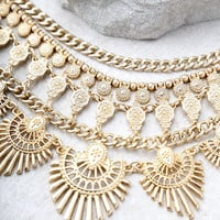 Made For This Gold Statement Necklace