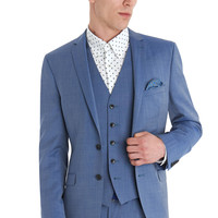 BEN SHERMAN CAMDEN SLIM FIT WASHED BLUE MIX AND MATCH SUIT JACKET