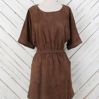 Altar'd State Compass-in-Hand Suede Dress | Altar'd State