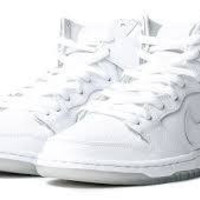 NIKE Dunk High Pro Sb White / White Base Grey