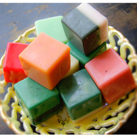 natural handmade soap favors - 6 old fashioned victorian apothecary guest soaps at their finest - over 50 aromas to choose from