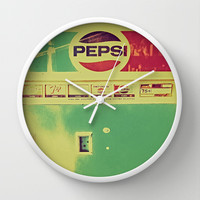 Say Pepsi! Wall Clock by DuckyB (Brandi)