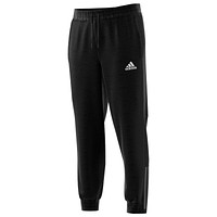Adidas Mens Team Issue Fleece Transitional Joggers Small Dark Grey/Black