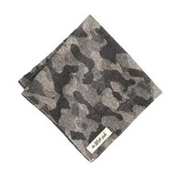 The Hill-side® woven jacquard camo pocket square - ties & pocket squares - Men's New Arrivals - J.Crew