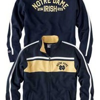 CHAMPION PRODUCTS : F1215K Varsity Track Jacket : Hammes Notre Dame Bookstore : www.nd.bkstr.com