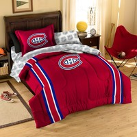 Montreal Canadiens NHL Bed in a Bag (Twin) xyz