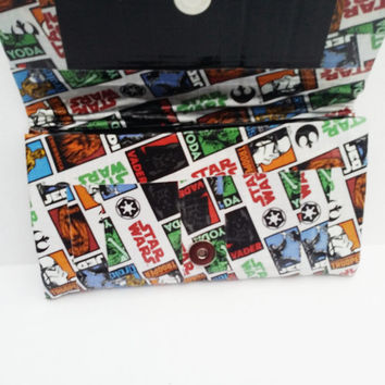 Star Wars Clutch Bag - Duct Tape Purse - Clutch Handbag