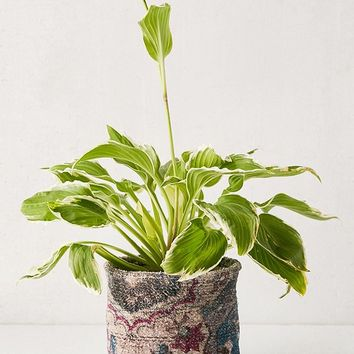 Chenille Planter Holder   Urban Outfitters