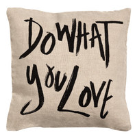 Linen Cushion Cover - from H&M
