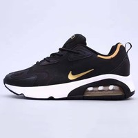 NIKE Air Max 200 Trending Men Casual Air Cushion Sport Running Shoes Sneakers