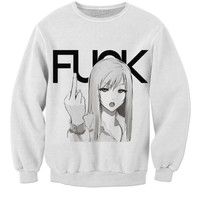 Fuck Anime girl T-shirt
