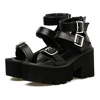 Bad Bish Sandal Platforms