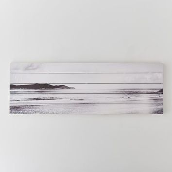 New Beach Planked Wood Art