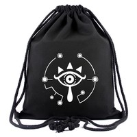 Anime Backpack School The Legend of Zelda Drawstring Bag Canvas Games  Gifts Young Teenager Casual Travel Bags Drawstring Backpacks AT_60_4