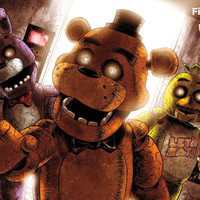 FNAF - Scare Wall Poster 22x34 RP14676 UPC882663046768 Five Nights at Freddy's