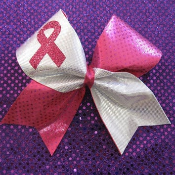 Breast Cancer Awareness Cheer Bow!