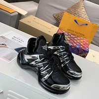 lv louis vuitton womans mens 2020 new fashion casual shoes sneaker sport running shoes 302