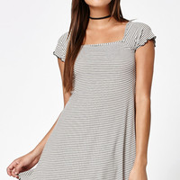 Kendall & Kylie Stripe Short Sleeve Dress at PacSun.com