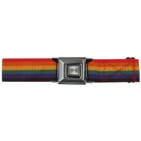 Ford Burst Seatbelt - Rainbow Web Belt