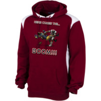 Ohio State Buckeyes vs Michigan Wolverines - Here Comes The Boom Unisex Printed Shoulder Colorblock Pullover