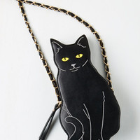 Quirky Cat to the Chase Bag by ModCloth
