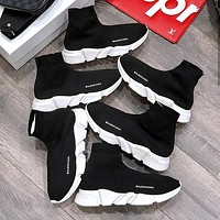 Balenciaga Woman Men Boots Fashion Breathable Sneakers Running Shoes-5