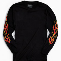 Flamez Long Sleeve Tee | Urban Outfitters