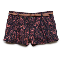 Tribal Print Woven Shorts (Kids)
