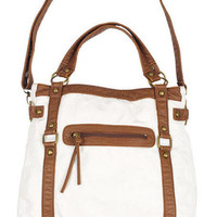 Ivory Canvas Bailey