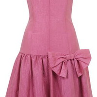 '80s Taffeta Prom Dress by Topshop Archive - Candy Pink