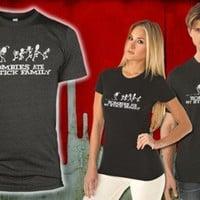 Zombies ate my stick family   zombie t shirts