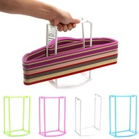 Plastic Hangers Creative Home Finishing Frame Hanger Companion Storage Rack